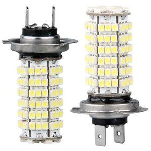 2x-LAMPADA-LAMPADINA-LUCI-H7-120-LED-SMD-BIANCO-PER-AUTO-HK