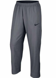 8f1d7172afb2 Nike Men s Size Small Team Woven Dri-Fit Training Pants Grey 904620 ...