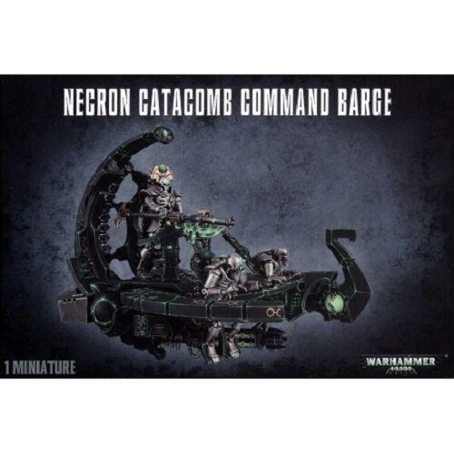 GAMES WORKSHOP # NECRON CATACOMB COMMAND BARGE WARHAMMER 40,000 40K