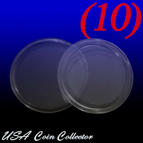 24.3mm A24 10 Genuine Holder Quarter Size Direct Fit Air-Tite Coin Capsule