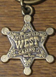Wild-Wild-West-Bally-039-s-Casino-Key-Chain-NEW-RARE-sb