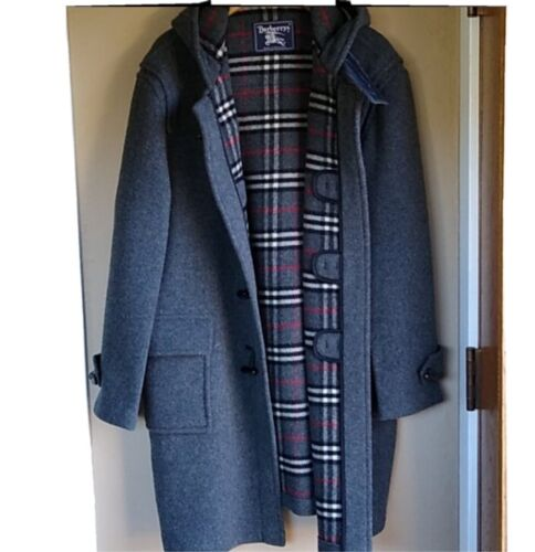 Burberrys' speciality Duffel Wool Long Coat XXL W… - image 1