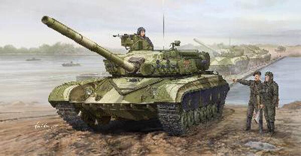 CHAR D'ASSAUT SOVIETIQUE T-64A, Modèle 1981 - KIT TRUMPETER 1 35 n° 1579