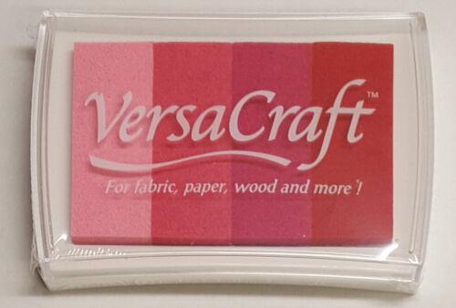 """Ink pad Pink Shade/"""" Stempelfarbe VersaCraft Stempelkissen /""""Rosatöne"""