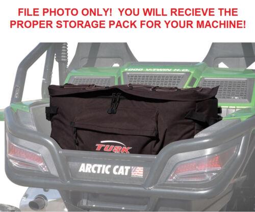 Tusk UTV Storage Pack Cargo Box Fits:Arctic Cat WILDCAT SPORT 700 2015–2017