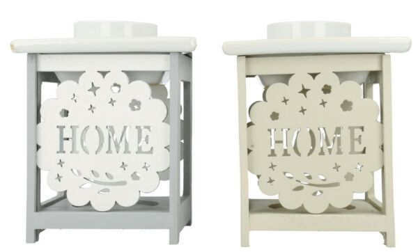 LP27556 AROMATIC NEW HOME SWEET HOME OIL BURNER GIFT SET WHITE BEIGE ...
