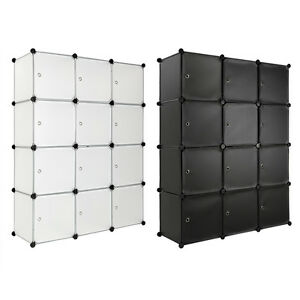 Opbergrek-plastic-kast-rek-garderobe-staand-rek-kwekerij-badkamer-met-deuren