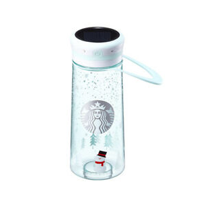 Starbucks Korea2017 Christmas Limited Mint LED Lantern Waterbottle tumbler 600ml