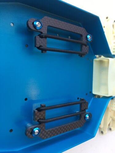 Carbon fiber RC10 Shorty LiPo holder