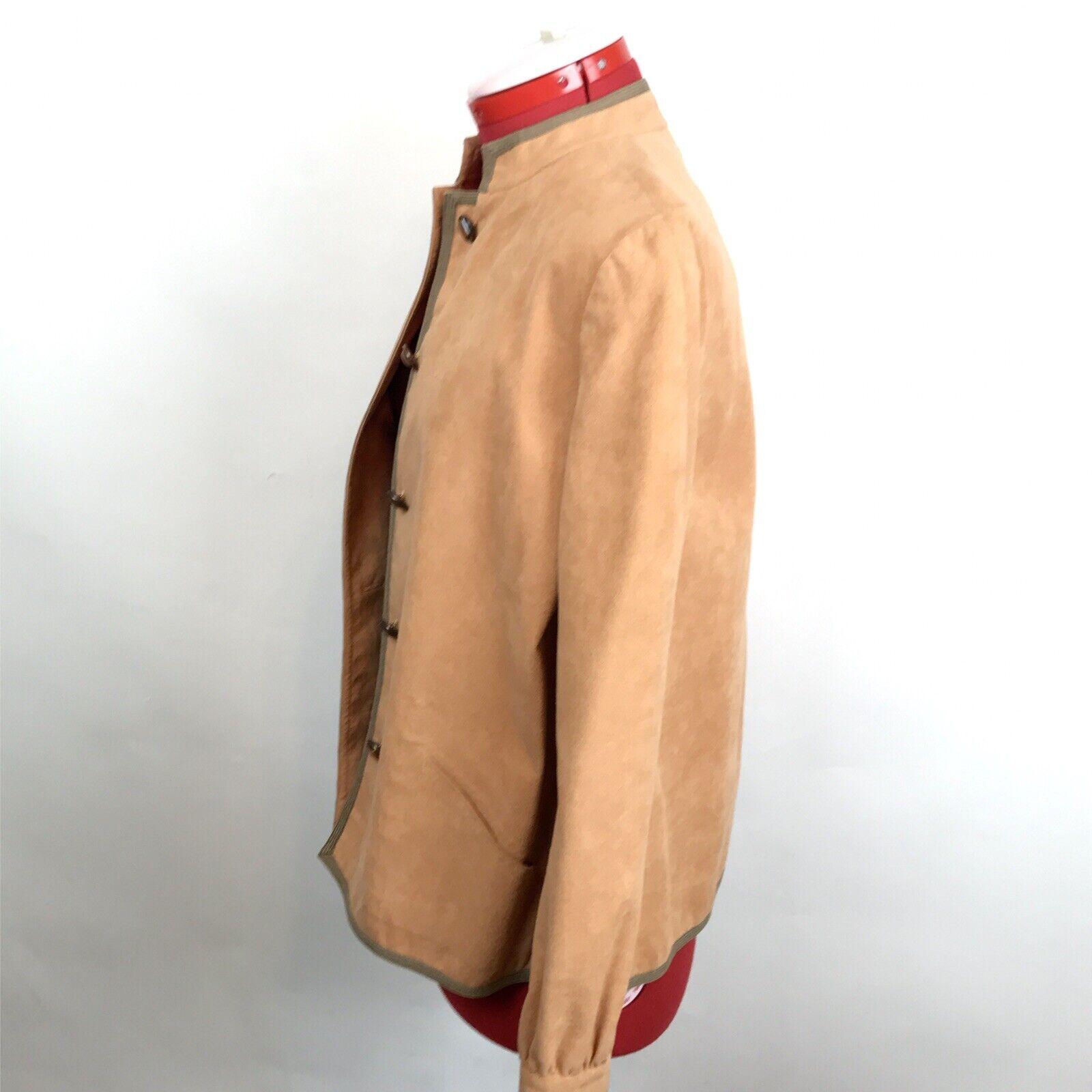 Vintage Retro 70s Mollie Parnis Ultra Suede Jacke… - image 5