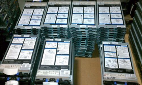IBM 8853-AC1 HS21 Blade  2x E5440 2.83 GHZ Quad Core 16GB RAM 2x 73GB 10K HDD