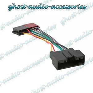 ford focus car stereo radio iso wiring harness connector adaptor