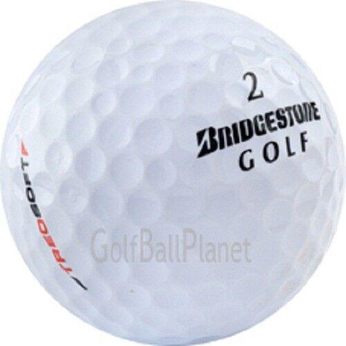 48 Bridgestone Treosoft Used Golf Balls Near Mint AAAA Free Shipping