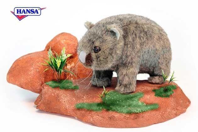 Wombat 37 cm Kuscheltier Plüschtier Hansa Toy 3248
