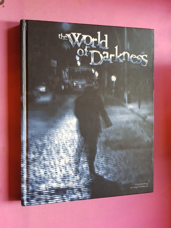 Mondo DI TENEBRA Core Book-bianca Wolf RPG WW nwod fuori catalogo Roleplay Ruolo