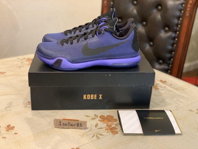 Size 9 - Nike Kobe 10 blackout 2015