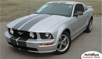 2008 521 Mustang GT Racing 3M Pro Vinyl Rally Stripes Decals Graphics