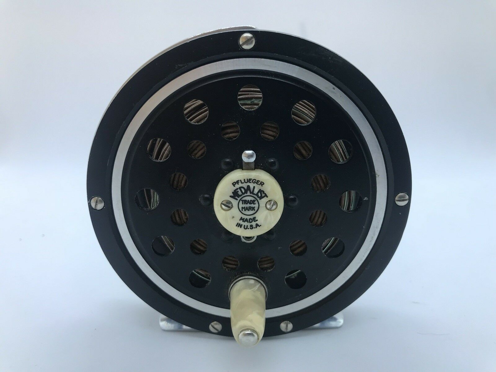 Pflueger Diamolite MEDALIST 1495 USA Made Fly Reel Diamolite Pflueger Guard e22aef