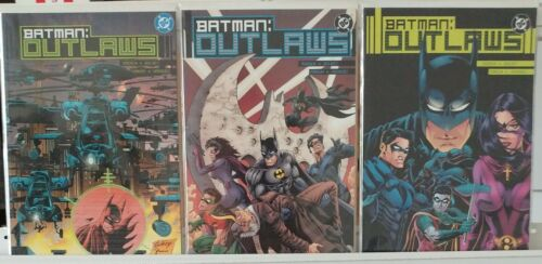 Batman Outlaws 1 2 3 Complete Set Series Run Lot 1-3 VF//NM