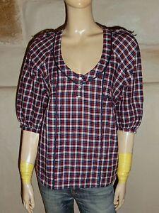 blouse-chemise-SANDRO-Taille-1-coton-EXCELLENT-ETAT