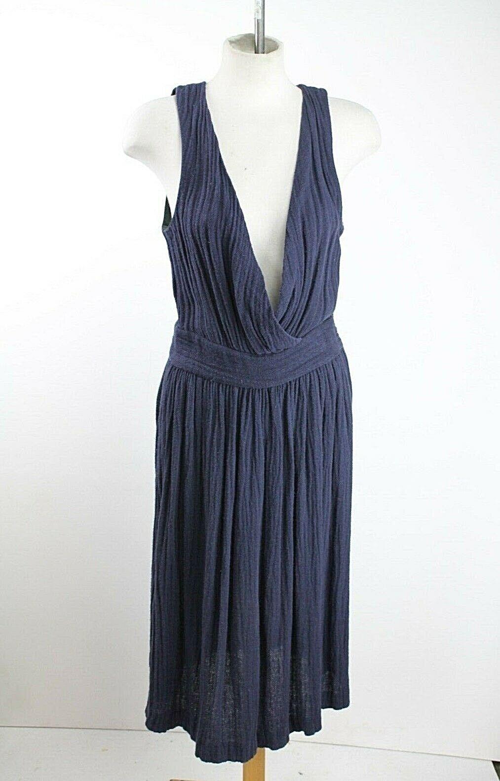 Isabel Marant Blau Leinenkleid ,Größe Uk6   Eu 34