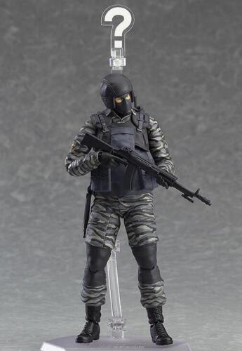 Figma 298 Metal Gear Solid 2 Gurlukovich PVC Action Figure Toy Gift New In Box