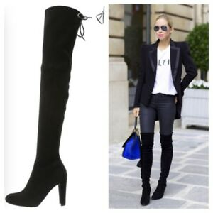 Highland suede over-the-knee boots Stuart Weitzman ZWYPHzzd