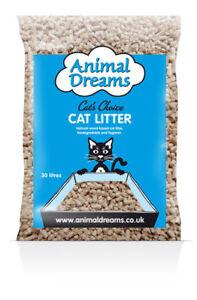 Animal-Dreams-Cat-039-s-Choice-Woodbase-Cat-Litter-30ltr