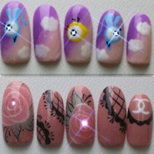 NFC-nail-art-LED-flashing-light-sticker-with-17-decorative-art-n-K9H3-stick-C2B6
