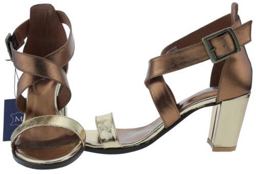 203142 Manoukian Leder Sandalen bronze EUR 39
