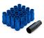 M12x1.25 Azul Acero Rueda Tuercas EPMAN encaja Nissan Skyline Subaru S13 S14