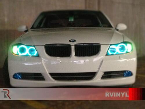 Rtint Headlight Tint Precut Smoked Film Covers for Saturn Outlook 2007-2010