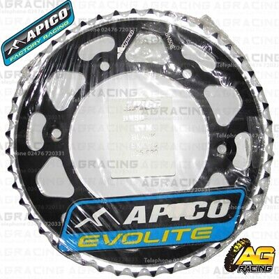2019 Nieuwe Stijl Apico Evolite Black Rear Sprocket 52t 520 For Ktm Sx 144 2008