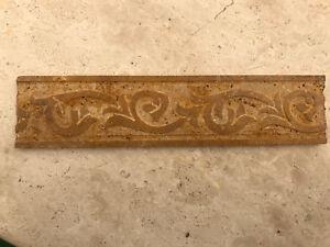 Torello matita in pietra travertino per rivestimenti bagni cucine