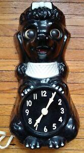 Vintage-Poodle-Dog-Clock-In-Original-Box