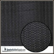 24in x 36in Black OEM guitar amp/speaker cabinet grill cloth