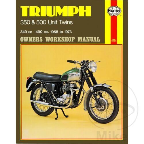 Triumph T90 350 1962-1968 Haynes Service Repair Manual 0137