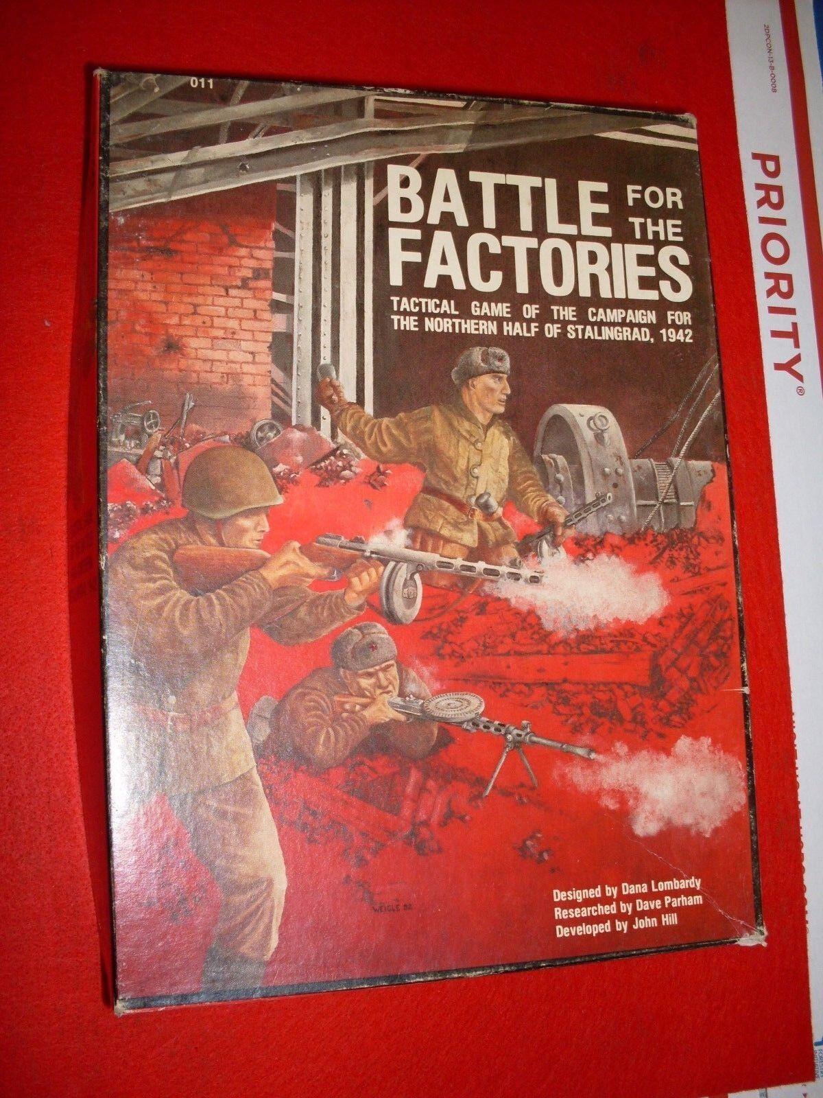 Batalla por las fábricas-campaña para la mitad norte de Stalingrado 1942 casi como nuevo