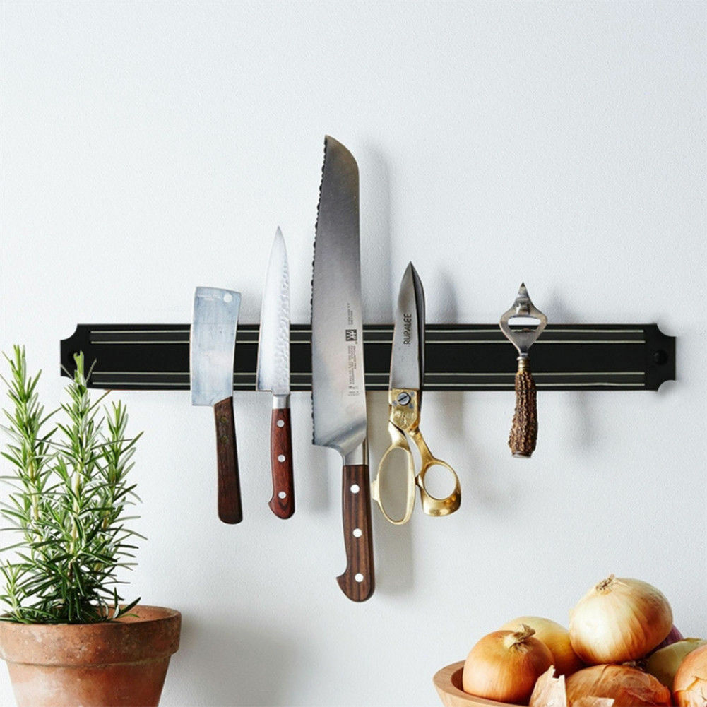 Strong Magnetic Knife Holder Rack Wall Mount Strip Block Kitchen Bracket 18 /24  - $12.99