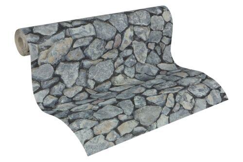 95835-1 1 Rolle hochwertige Präge Tapete Stein Dekor in sagenhafter Optik
