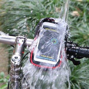 da173efacdf WHEEL UP Bike Cell Phone Bag Rainproof TPU Touch Screen Holder MTB ...