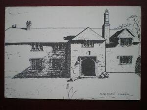 POSTCARD CORNWALL MERTHEN MANOR  PENCIL SKETCH - Tadley, United Kingdom - POSTCARD CORNWALL MERTHEN MANOR  PENCIL SKETCH - Tadley, United Kingdom