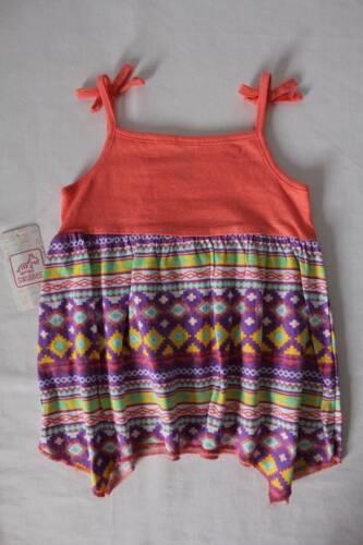 NEW Baby Girls Shirt Size 24 Months Tank Top Sleeveless Lace Shark Bite Summer