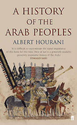 """""""AS NEW"""" Hourani, Albert, A History of the Arab Peoples Book"""