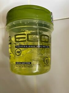 Eco Professional styling Gel, Olive Oil, Max Hold 8oz