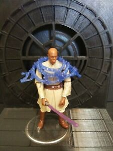 Hasbro Star Wars Revenge Of The Sith Mace Windu Force Combat Loose Ebay