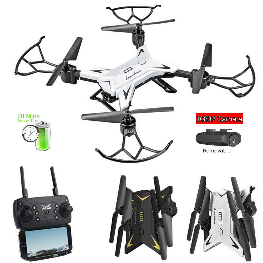 Foldable WIFI FPV RC Quadcopter Drone with 1080P 5.0MP HD Camera Selfie Drone X