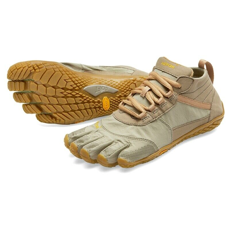 Vibram V-Trek damen Outdoor Hiking Five Fingers Grip schuhe Trainers - Khaki