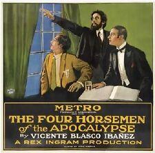 The Four Horsemen of the Apocalypse - 1921 Rex Ingram Rudolph Valentino Film DVD