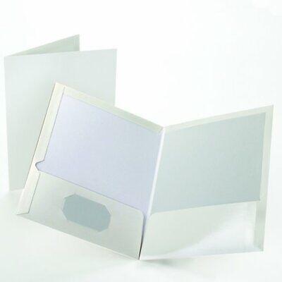 "8.50/"" Width X 11/"" Length Sheet Letter Oxford Contour Twin Pocket Folders"
